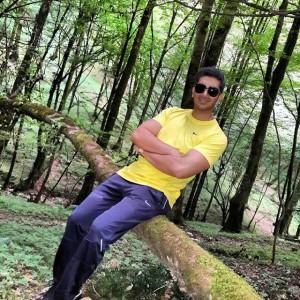 عکسهای فرزاد فرزین در جنگل