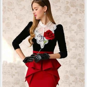 مدل لباس مجلسی دخترانه پوشیده