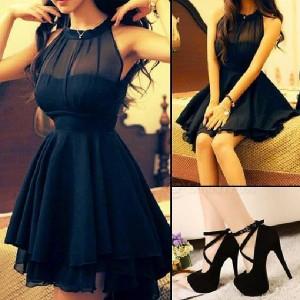 مدل لباس شب کوتاه