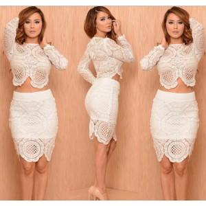 جدیدترین مدل لباس مجلسی سفید رنگ