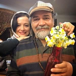 عکس مهراوه و پدرش