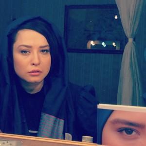 عکس مهراوه شریفی نیا در منزل