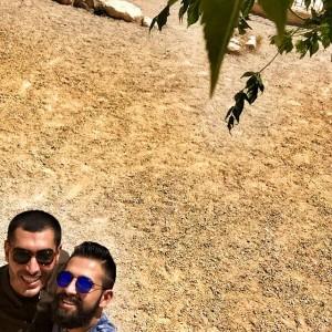 جدیدترین عکس سلفی شهاب حسینی و افشانی