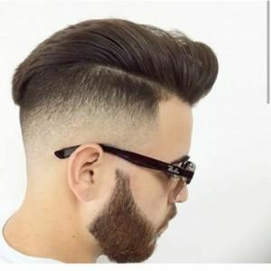 مدل مو پسرانه دور سفید
