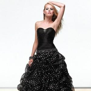 مدل لباس مجلسی پفی