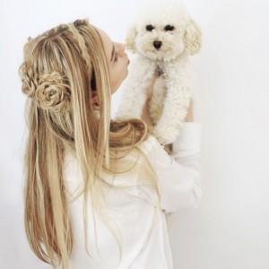 مدل شینیون برای موهای لخت