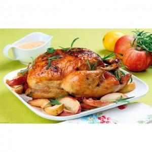 آموزش پخت مرغ شکم پر
