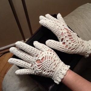 جدیدترین مدل های دستکش قلاب بافی