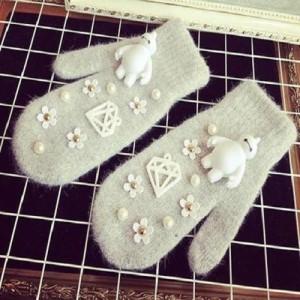 مدل های جدید دستکش فانتزی زمستانی
