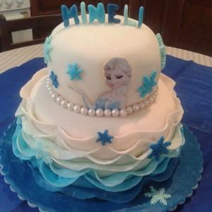جدیدترین مدل کیک تولد دو طبقه