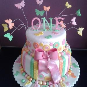 مدل های جدید کیک تولد دو طبقه