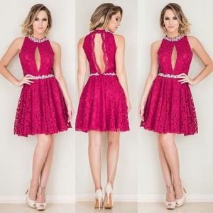 سری جدید مدل لباس مجلسی قرمز رنگ