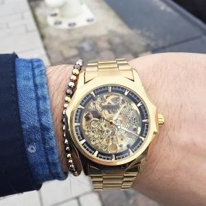مدل ساعت طلایی