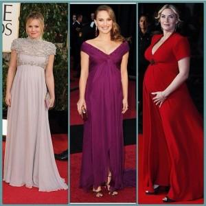 مدل های جدید لباس شب بارداری