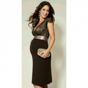 جدیدترین مدل لباس مجلسی بارداری