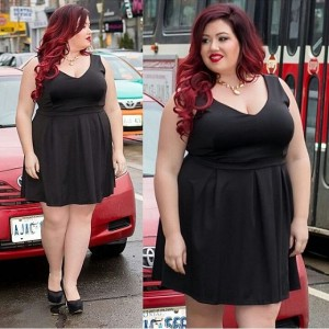 جدیدترین مدل لباس مجلسی خانومهای چاق