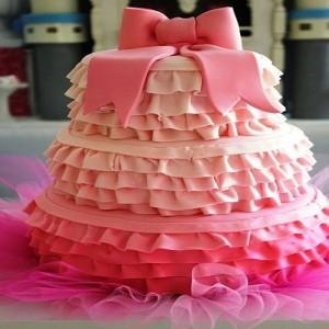جدیدترین مدل کیک تولد سه طبقه دخترانه
