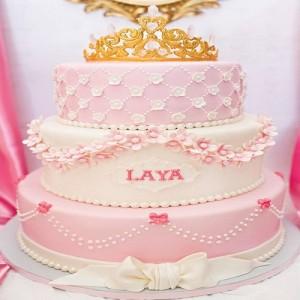 جدیدترین مدل کیک تولد سه طبقه