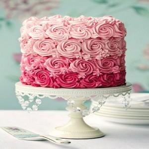 مدل های جدید کیک تولد طرح گل رز