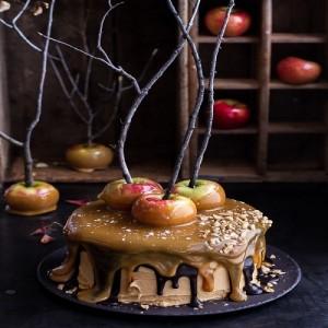 مدل های جدید کیک تولد طرح سیب
